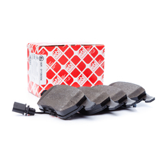 Febi bilstein brake system disc brake brake pad set with contact