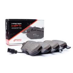 Remsa brake system disc brake brake pad set with contact