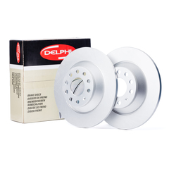 Delphi brake system disc brake brake disc solid