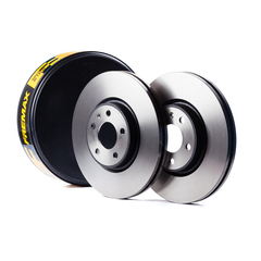 Front Brake Disc x 2 High Carbon 280MM Diameter No of Holes 6 ABS 16485