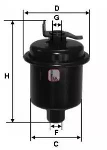 Fuel Filter FEBI BILSTEIN Honda Shuttle 2.2 16V 2.3 16V