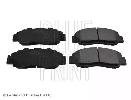 MDB1543 Front Brake Pads Fits Akebono System With Acoustic Wear Warning Mintex