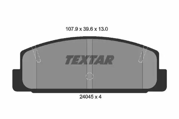 Rear Brake Pads Mazda 6 1.8 2.0 2.0 Di 2.3 2.3 AWD 2.0 MZR 2.0 MZR-CD 2.2 MZR-CD