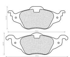 430216171047 - Brake Pad Set, disc brake