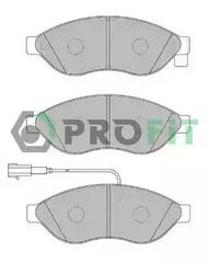 5000-1923 - Brake Pad Set, disc brake