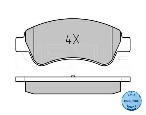 Front Delphi Brake Pads Peugeot 307 SW 1.6 16V 1.6 HDI 90 1.6 HDI 110 2.0 HDI 90