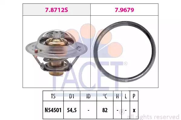 TH43182G1 Gaskets /& Seals Gates Thermostat