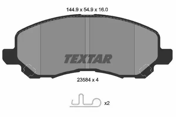 2358401 - Brake Pad Set, disc brake