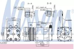 Compressor, air conditioning