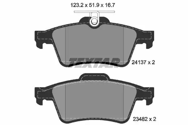 MINTEX FRONT AND REAR BRAKE PADS FOR JAGUAR XJ6 3.0 2003-06