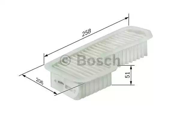 BOSCH F 026 400 353 Air Filter