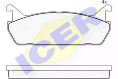 181186 - Brake Pad Set, disc brake