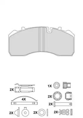 2919730004145684 - Brake Pad Set, disc brake