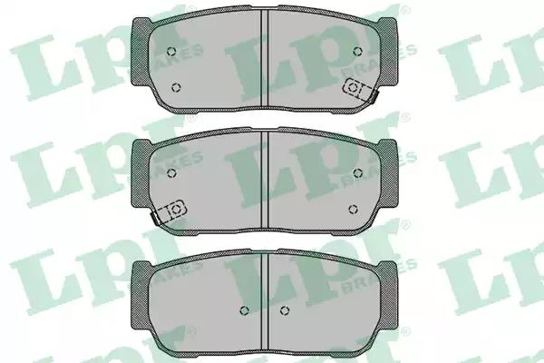 05P1504 - Brake Pad Set, disc brake