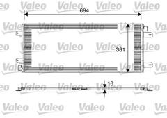 817689 - Condenser, air conditioning