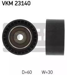 VKM 23140 - Deflection/Guide Pulley, timing belt