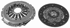 ALFA ROMEO FIAT LANCIA Dual Mass Flywheel 2 Piece Clutch Kit 220mm By LuK