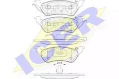 181564 - Brake Pad Set, disc brake