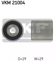 VKM 21004 - Deflection/Guide Pulley, timing belt