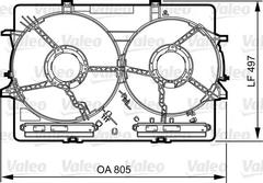 820757 - Support, cooling fan
