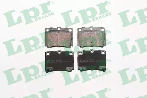 Delphi LP1865 Car Brake Pads