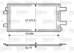 814003 - Condenser, air conditioning