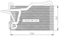 36035 - Evaporator, air conditioning