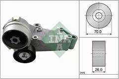 98FF3K7738BH - Tensioner lever, tensioner pulley, belt tensioner OE