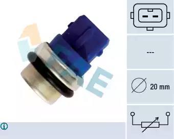 VW Polo 6N1 100 1.4 16V 3 Terminal Febi Radiator Fan Temperature Switch Sender