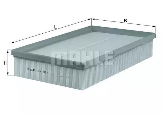 Mahle LX 200 Luftfilter
