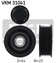 VKM 31041 - Deflection/Guide Pulley, v-ribbed belt