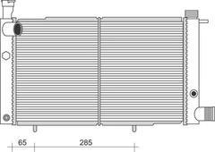 Denso Radiator DRM21013 Replaces 1300K7 810892