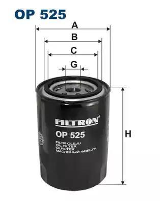 OIL FILTER FILTRON OC 600