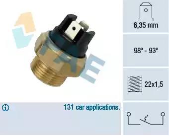 FEBI BILSTEIN Temperature Switch radiator fan 02756