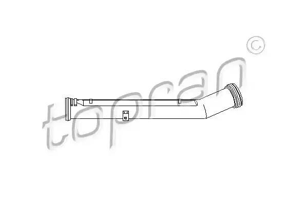 TOPRAN Coolant Tube 109 625