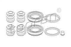 107 082 - Repair Kit, brake caliper