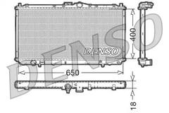 DRM45010 - Radiator, engine cooling