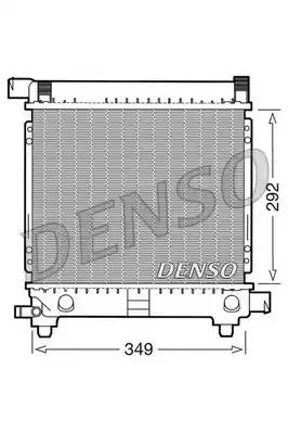 8MK 376 711-314 HELLA Radiator  engine cooling