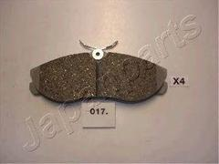 PA-017P - High Performance Brake Pad Set