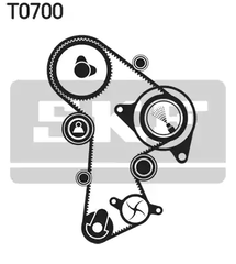 VKMC 01263-2 - Water Pump & Timing Belt Set