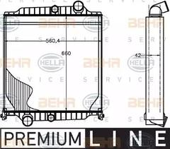 8MK 376 758-091 - Radiator, engine cooling