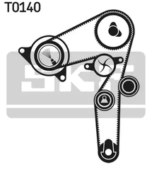 1276179J50 - Water pump & timing belt set, timing belt set