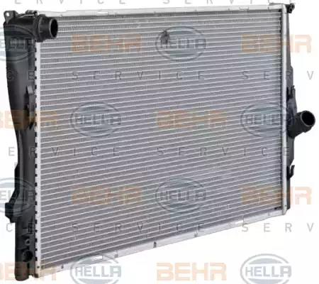 8MK 376 712-004 HELLA Radiator  engine cooling