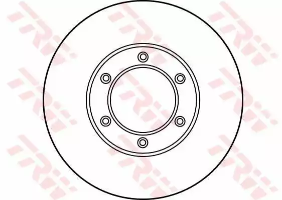DF1012 - Brake Disc applicable for the RENAULT | Spareto